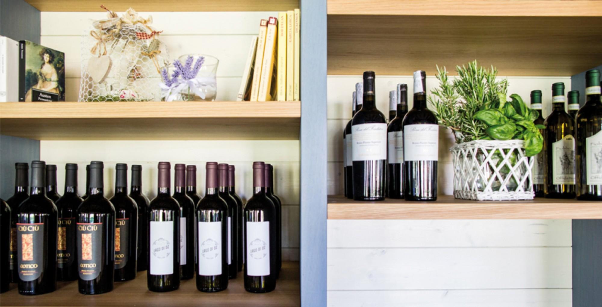Scelta di vini dell'osteria - Lago di Oz - Food & Soul