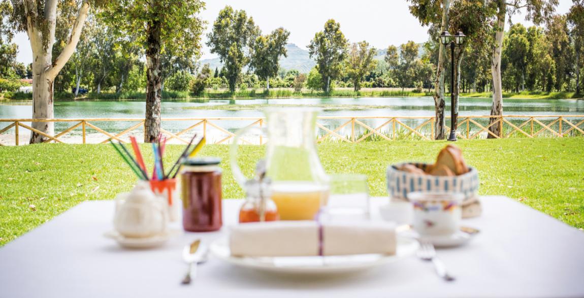 Vista dall'osteria - Lago di Oz - Food & Soul