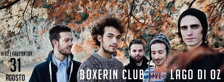 BOXERIN CLUB live domenica 31 agosto